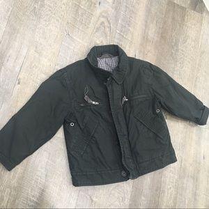 🌵 Gap kids Black Cotton coat w lots of pockets